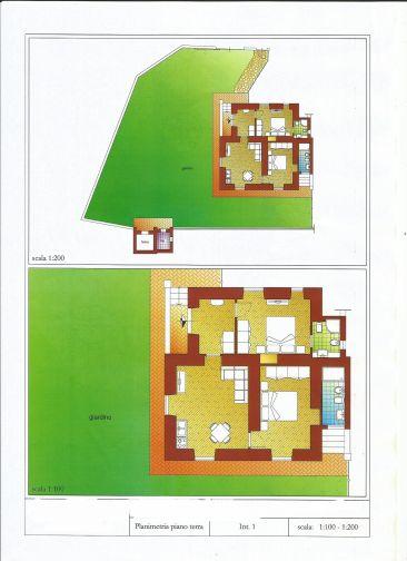 Via Casal Selce Appartamento piano terra con giardino