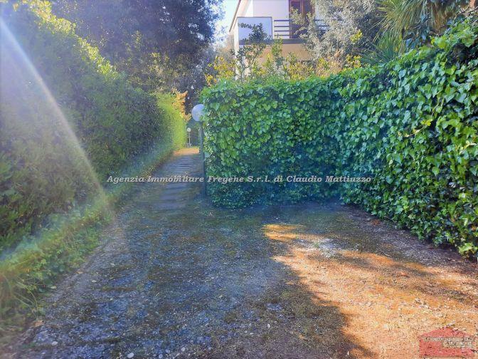 Attico con giardino