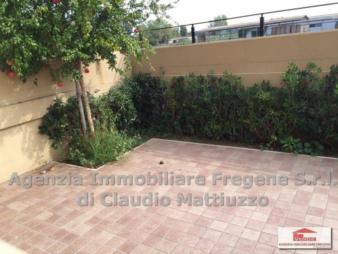 Granaretto appartamento con giardino di nuova costruzione